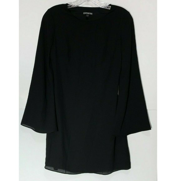 Express Dresses & Skirts - Express Dress Cut Out Back Long Sleeve Tunic Mini